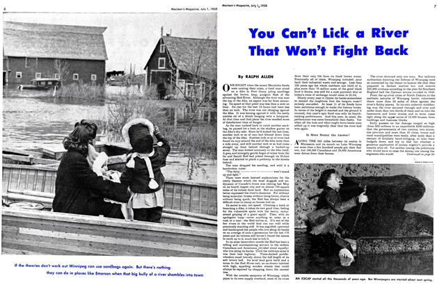 Article Preview: You Can't Lick a River That Won't Fight Back, July 1950 | Maclean's