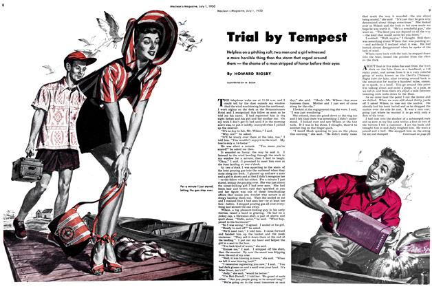 Article Preview: Trial by Tempest, July 1950 | Maclean's