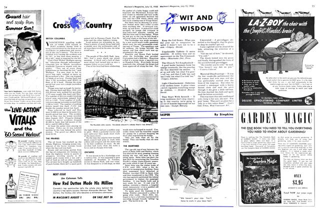 Article Preview: Cross Country, July 1950 | Maclean's
