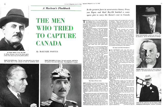 Article Preview: THE MEN WHO TRIED TO CAPTURE CANADA, July 1950 | Maclean's