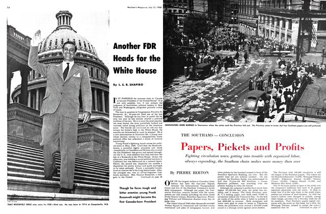 Article Preview: Papers, Pickets and Profits, July 1950 | Maclean's