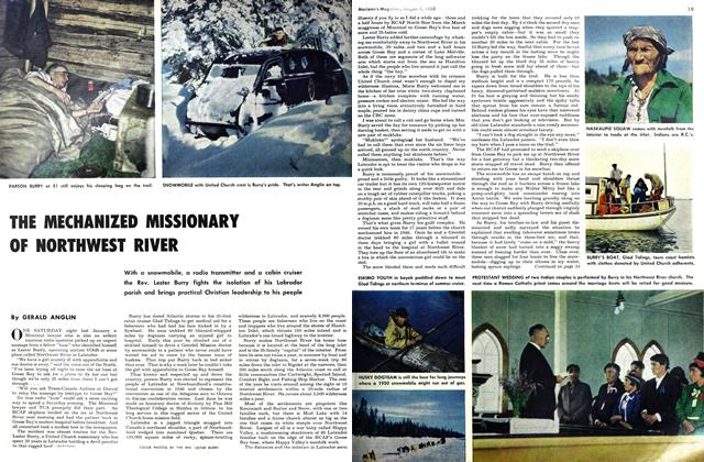 Article Preview: THE MECHANIZED MISSIONARY OF NORTHWEST RIVER, August 1950 | Maclean's