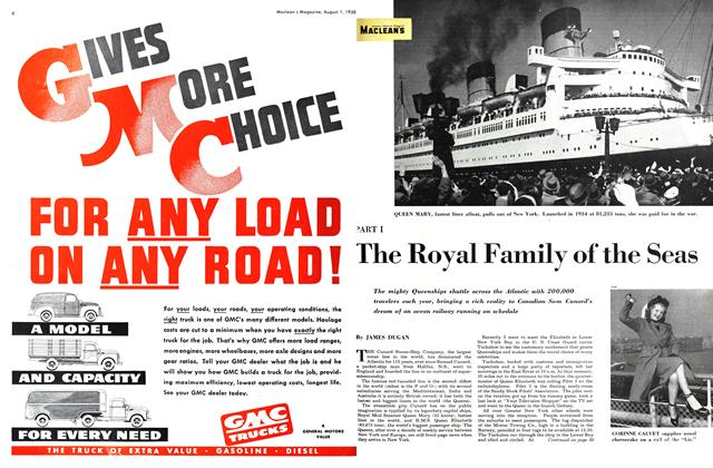 Article Preview: PART 1 The Royal Family of the Seas, August 1950 | Maclean's