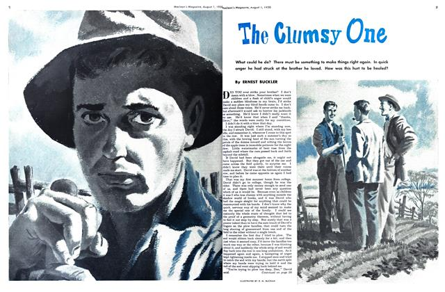 Article Preview: The Clumsy One, August 1950 | Maclean's