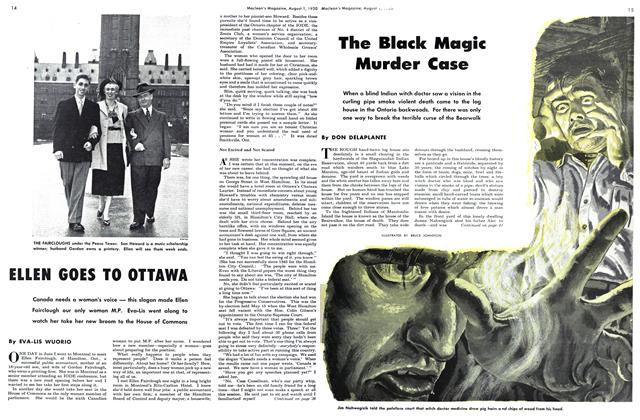 Article Preview: The Black Magic Murder Case, August 1950 | Maclean's