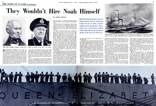 Article Preview: They Wouldn't Hire Noah Himself, August 1950 | Maclean's