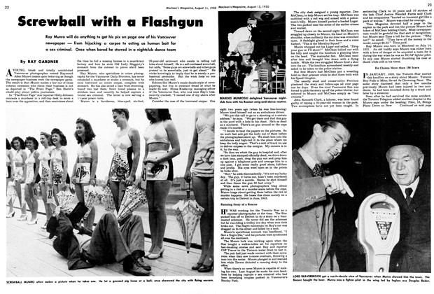 Article Preview: Screwball with a Flashgun, August 1950 | Maclean's