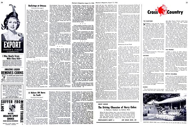 Article Preview: Cross Country, August 1950 | Maclean's