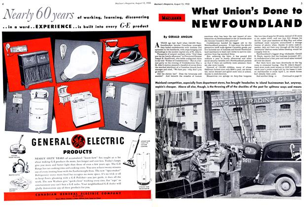 Article Preview: What Union's Done to NEWFOUNDLAND, August 1950 | Maclean's