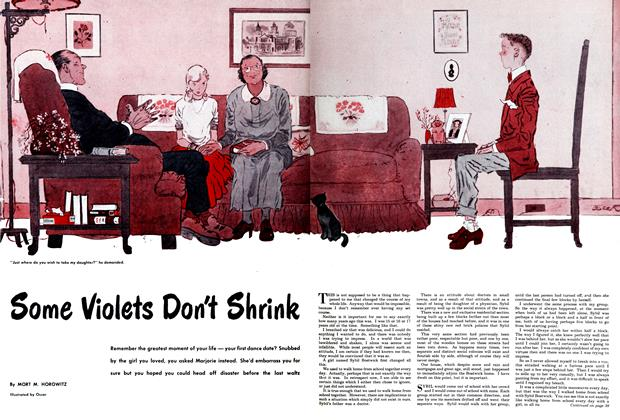 Article Preview: Some Violets Don't Shrink, August 1950 | Maclean's