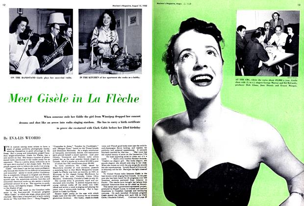 Article Preview: Meet Gisèle in La Flèche, August 1950 | Maclean's