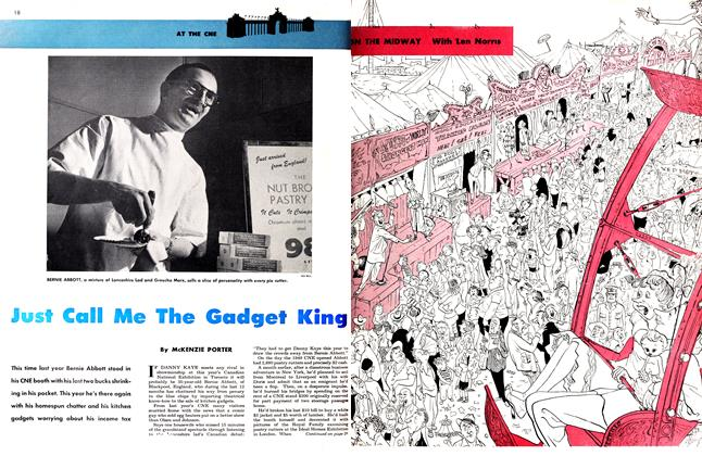 Article Preview: Just Call Me The Gadget King, September 1950 | Maclean's