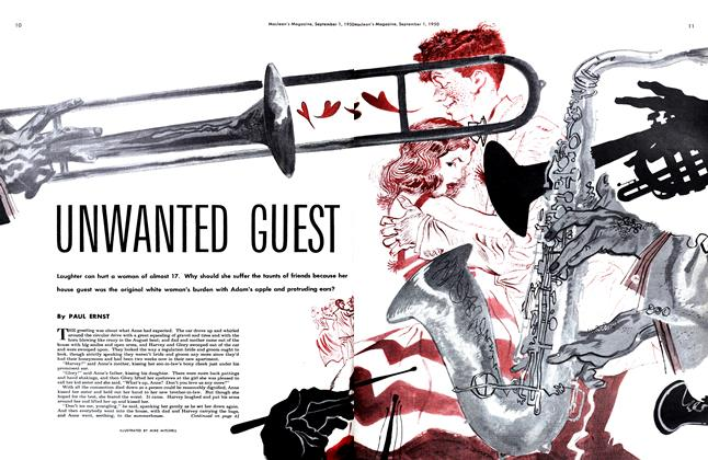 Article Preview: UNWANTED GUEST, September 1950 | Maclean's
