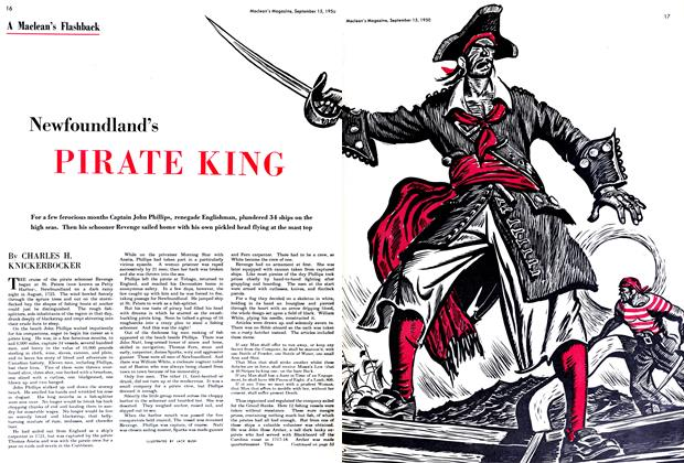Article Preview: Newfoundland's PIRATE KING, September 1950 | Maclean's