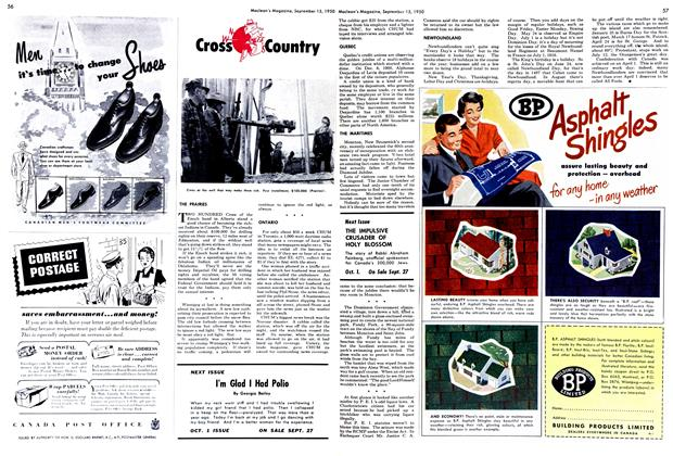 Article Preview: Cross Country, September 1950 | Maclean's