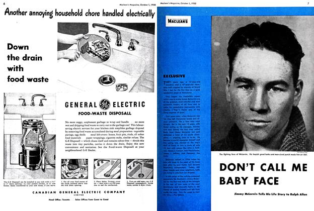 Article Preview: DON'T CALL ME BABY FACE, October 1950 | Maclean's