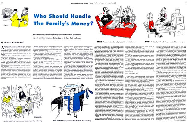 Article Preview: Who Should Handle The Family's Money?, October 1950 | Maclean's