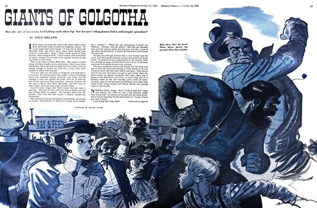 Article Preview: GIANTS OF GOLGOTHA, October 1950 | Maclean's