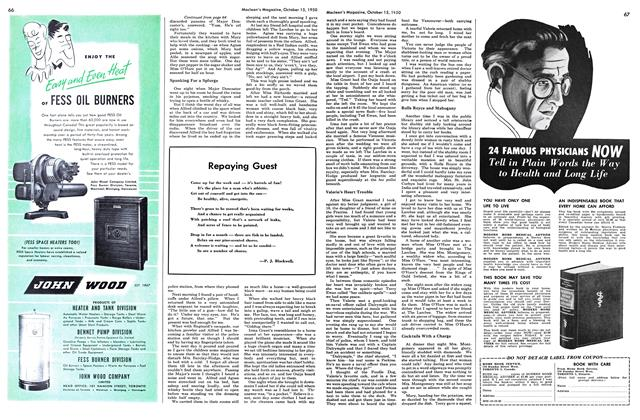 Article Preview: Repaying Guest, October 1950 | Maclean's