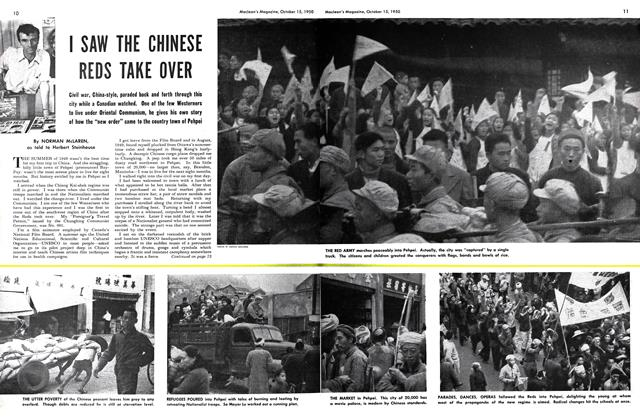 Article Preview: I SAW THE CHINESE REDS TAKE OVER, October 1950 | Maclean's