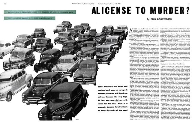 Article Preview: A LICENSE TO MURDER?, October 1950 | Maclean's