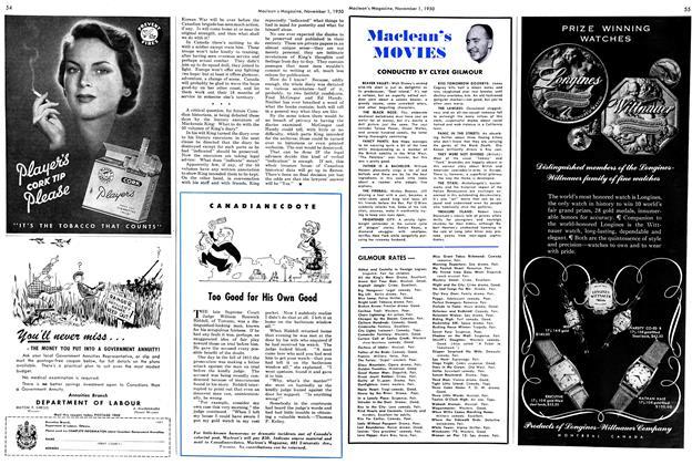 Article Preview: Maclean's MOVIES, November 1950   Maclean's