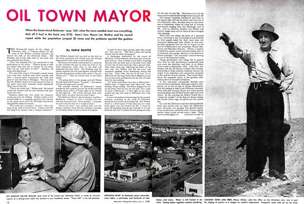 Article Preview: OIL TOWN MAYOR, November 1950 | Maclean's