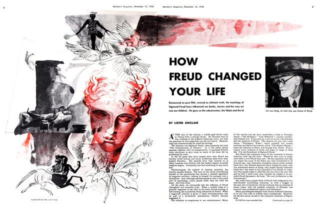 Article Preview: HOW FREUD CHANGED YOUR LIFE, November 1950 | Maclean's