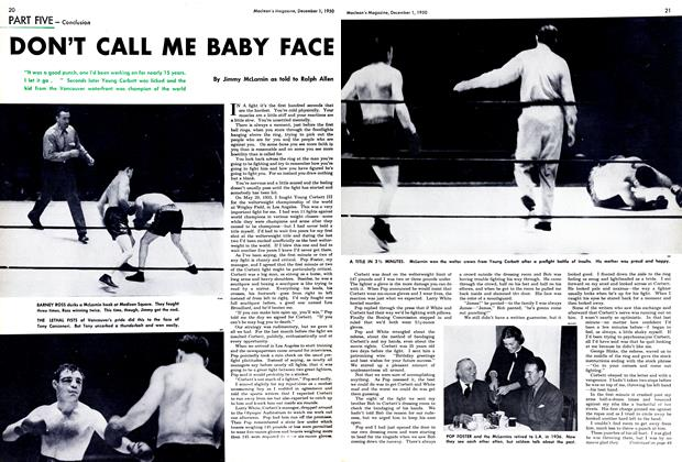 Article Preview: DON'T CALL ME BABY FACE, December 1950 | Maclean's