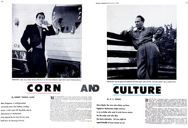 Article Preview: CORN, December 1950 | Maclean's