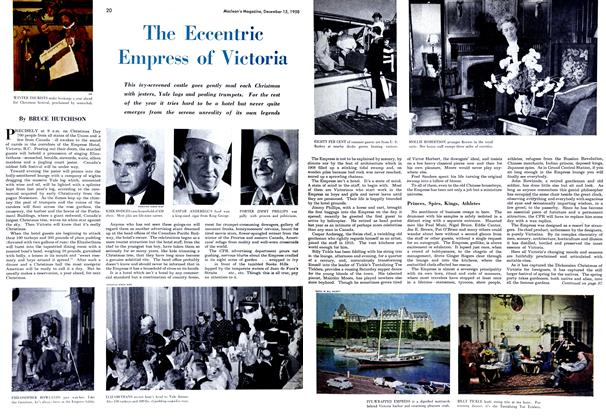 Article Preview: The Eccentric Empress of Victoria, December 1950 | Maclean's