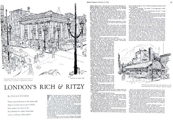 Article Preview: LONDON'S RICH & RITZY, December 1950 | Maclean's
