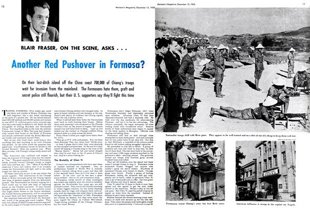 Article Preview: Another Red Pushover in Formosa?, December 1950 | Maclean's