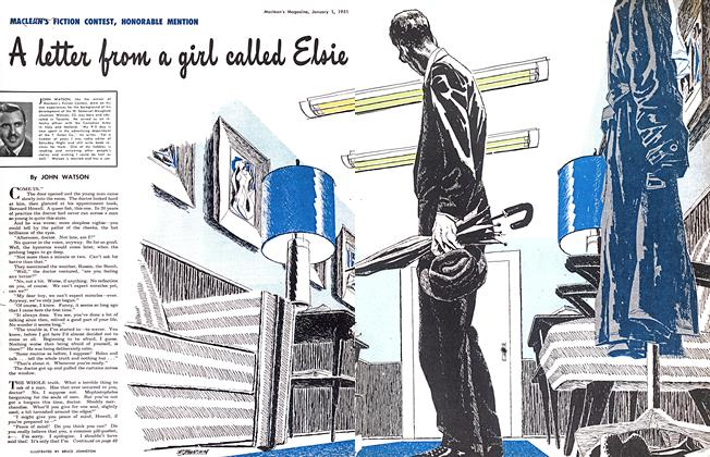 Article Preview: A letter from a girl called Elsie, January 1951 | Maclean's