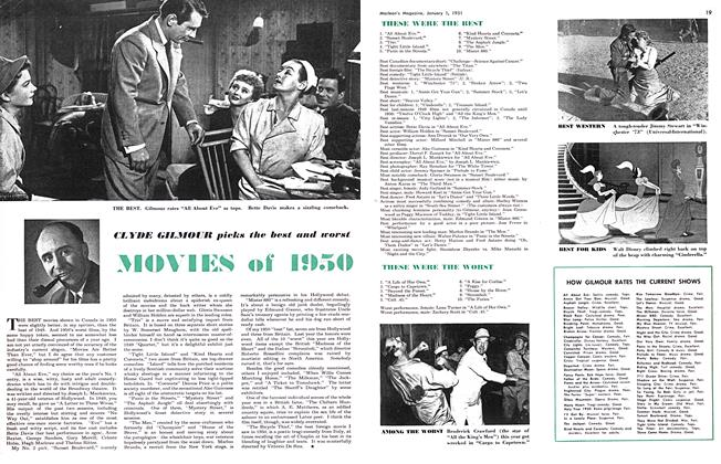 Article Preview: MOVIES of 1950, January 1951 | Maclean's