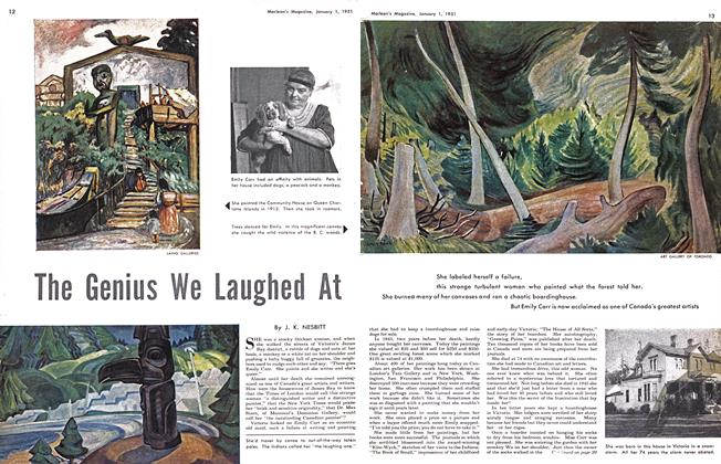 Article Preview: The Genius We Laughed At, January 1951 | Maclean's