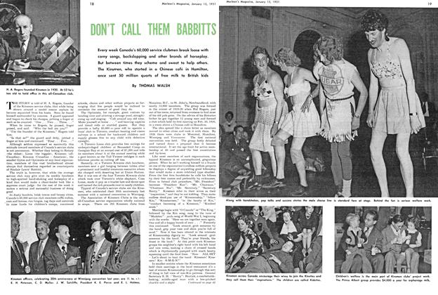 Article Preview: DON'T CALL THEM BABBITTS, January 1951 | Maclean's