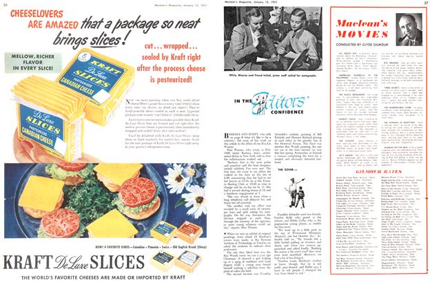 Article Preview: Maclean's MOVIES, January 1951 | Maclean's