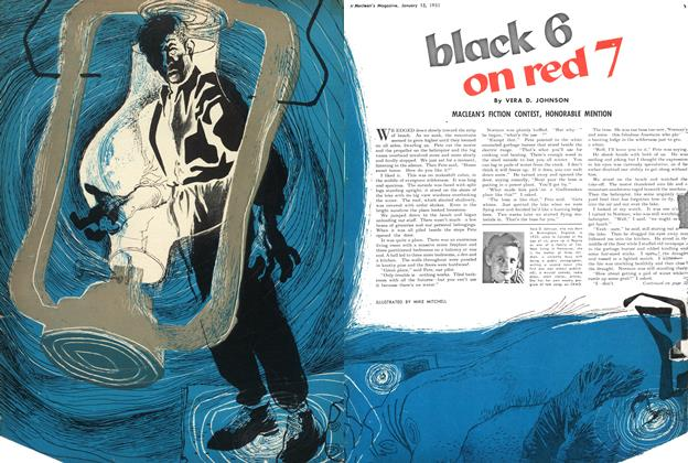 Article Preview: black 6 on red 7, January 1951 | Maclean's