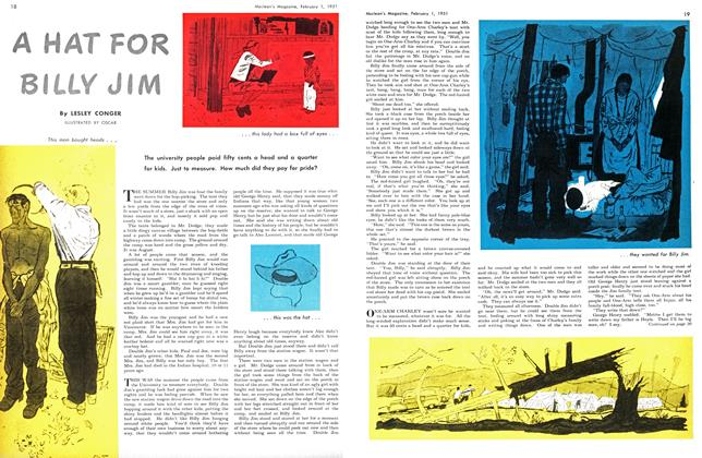 Article Preview: A HAT FOR BILLY JIM, February 1951 | Maclean's