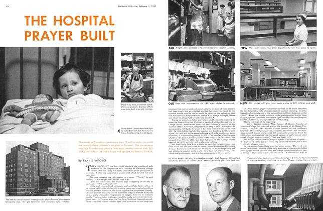 Article Preview: THE HOSPITAL PRAYER BUILT, February 1951 | Maclean's