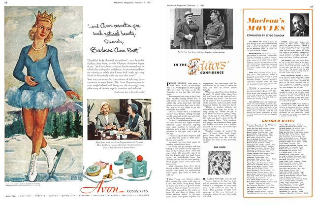 Article Preview: Maclean's MOVIES, February 1951   Maclean's