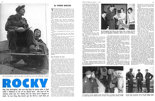 Article Preview: ROCKY, February 1951 | Maclean's