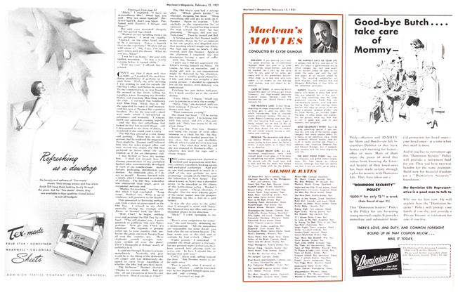 Article Preview: Maclean's MOVIES, February 1951 | Maclean's