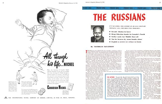 Article Preview: THE RUSSIANS, February 1951 | Maclean's