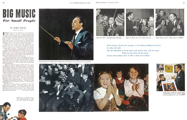Article Preview: BIG MUSIC For Small People, February 1951 | Maclean's