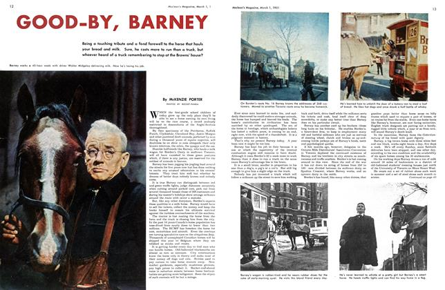 Article Preview: GOOD-BY, BARNEY, March 1951 | Maclean's