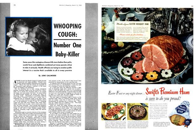 Article Preview: Number One Baby-Killer, March 1951 | Maclean's