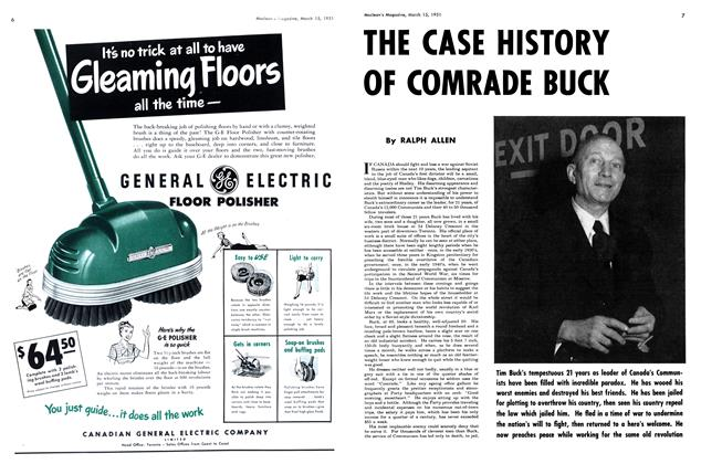 Article Preview: THE CASE HISTORY OF COMRADE BUCK, March 1951 | Maclean's