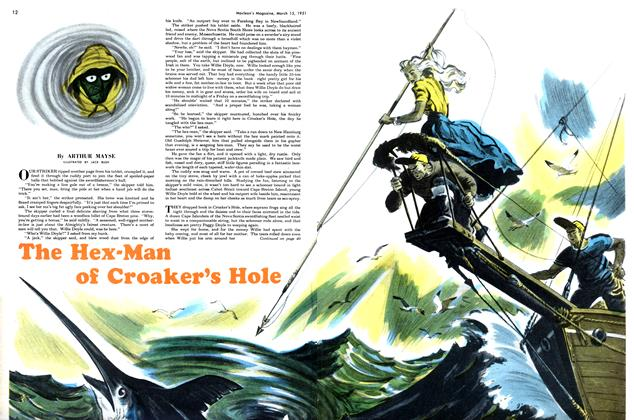Article Preview: The Hex-Man of Croaker's Hole, March 1951 | Maclean's
